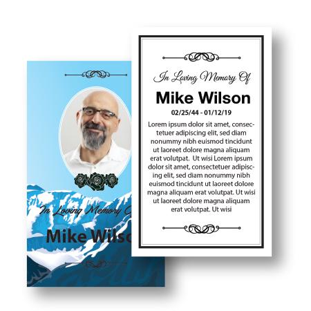 Flat Prayer cards